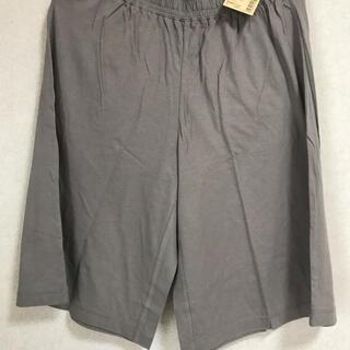 MUJI (無印良品) - 無印良品 今季物 レーヨンコットン天竺 ひざ丈パンツ 2枚セット