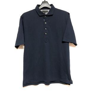 シマムラ(しまむら)のVILLAND ポロシャツ LL サイズ 紺色 しまむら(ポロシャツ)