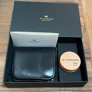 ガンゾ(GANZO)のワイルドスワンズ パーム サドルプルアップ(折り財布)