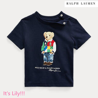 ラルフローレン(Ralph Lauren)の12m80cm  新作 ラルフローレン  ベア 半袖 親子コーデ(Tシャツ)