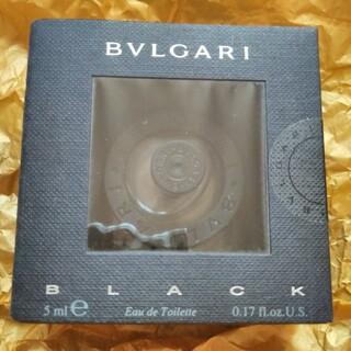 ブルガリ(BVLGARI)のBVLGARI BLACKブルガリ ブラックミニ香水 オーデトワレ 5ml(ユニセックス)