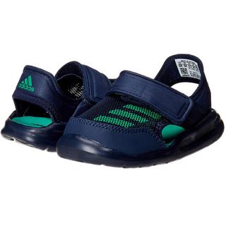 adidas - アディダス ベビー サンダル 13cm ネイビー