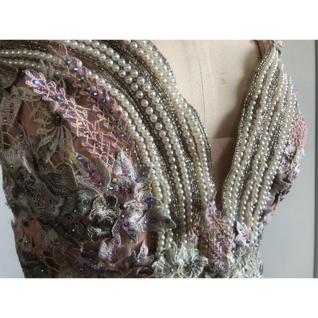 AngelR(エンジェルアール)のAラインロングドレス演奏会ステージ誕生二次会パティーキャバ嬢ナイトクラブ披露宴 レディースのフォーマル/ドレス(ロングドレス)の商品写真
