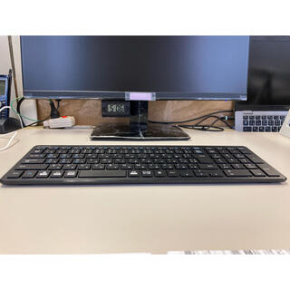 エレコム(ELECOM)のELECOM Bluetooth超薄型コンパクトキーボード(PC周辺機器)
