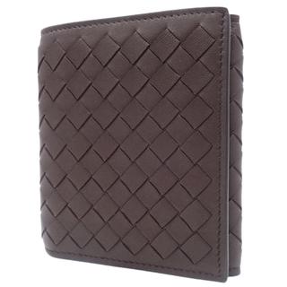 ボッテガヴェネタ(Bottega Veneta)のボッテガヴェネタ 3つ折りコンパクト財布 ラム ブラウン 40800073598(折り財布)