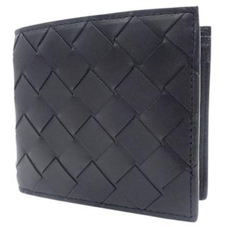 ボッテガヴェネタ(Bottega Veneta)のボッテガヴェネタ 財布 二つ折りウォレット ブラック黒 40800072766(折り財布)