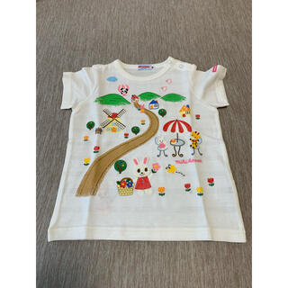 mikihouse - 【90サイズ】ミキハウス うさこ 半袖Tシャツ