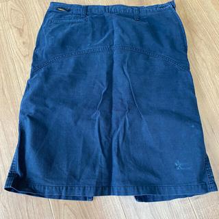 ヒステリックグラマー(HYSTERIC GLAMOUR)のヒステリックグラマー 台形スカート used (ひざ丈スカート)
