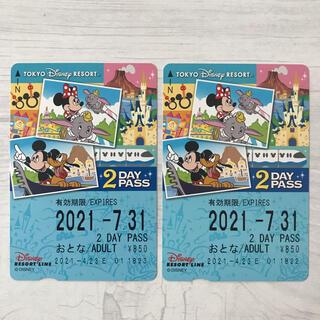 ディズニー(Disney)のディズニーリゾートライン フリーパス (鉄道乗車券)