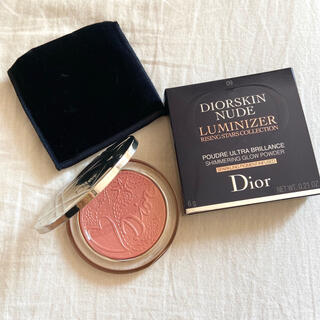 Dior - Dior新品ディオールスキン ミネラル ヌード ルミナイザー パウダー限定品