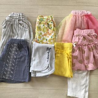 ムージョンジョン(mou jon jon)のムージョンジョン 女の子 キュロット スカート 100センチ(パンツ/スパッツ)
