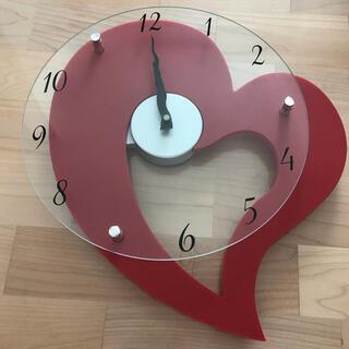 ニトリ(ニトリ)の掛け時計 ハート(掛時計/柱時計)