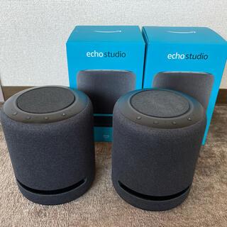 Echo studio 2台セット 【金土日は楽天カードでお得!】