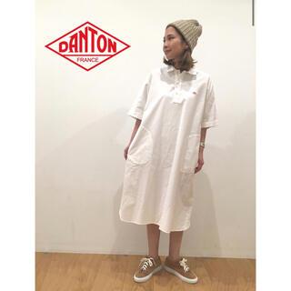 DANTON - 【DANTON】プルオーバーワンピース