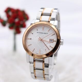 バーバリー(BURBERRY)の正規品【新品電池】BURBERRY BU9105/ピンクゴールド 動作品 美品(腕時計)