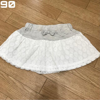 ニシマツヤ(西松屋)のレーススカート ベビースカート キッズスカート(スカート)