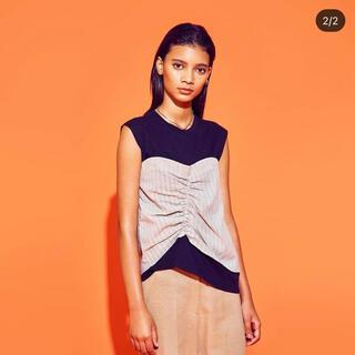 ダブルシー(wc)のwcj  WCJ ビスチェドッキングプルオーバー 新品(Tシャツ(半袖/袖なし))
