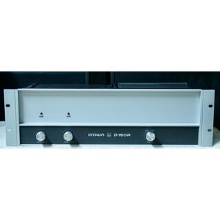 動作確認済/CROWN D-150A/クラウン/AMCRON(パワーアンプ)