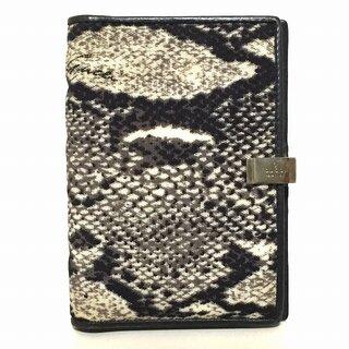 グッチ(Gucci)のグッチ 手帳 - 0313731 黒×アイボリー(その他)