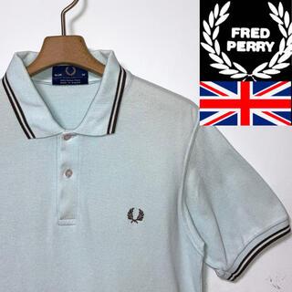 FRED PERRY - 美品!イングランド製!FREDPERRYフレッドペリー M12 月桂樹マークポロ