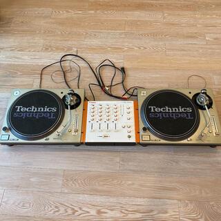 パナソニック(Panasonic)のTechnics SL-1200 MK3   ターンテーブルセット(ターンテーブル)