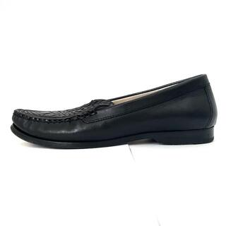コールハーン(Cole Haan)のコールハーン ローファー 5 1/2 B - 黒(ローファー/革靴)