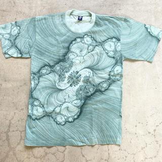 ドリスヴァンノッテン(DRIES VAN NOTEN)の【90s】総柄 Tシャツ 古着 vintage マーブル アート ヴィンテージ(Tシャツ/カットソー(半袖/袖なし))