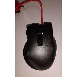 ELECOM - エレコム 14ボタンプログラム可能MMOゲーミングマウス M-DUX50BK