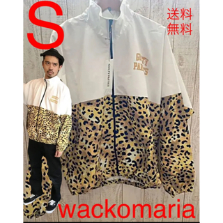 ワコマリア(WACKO MARIA)のWACKO MARIA ワコマリア LEOPARD レオパードトラックジャケット(ジャージ)
