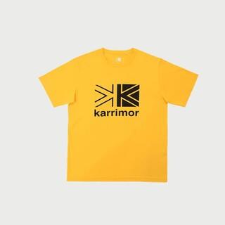 カリマー(karrimor)のカリマー ビッグロゴTシャツ イエロー S(Tシャツ/カットソー(半袖/袖なし))