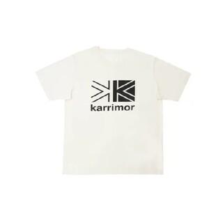 カリマー(karrimor)のカリマー ビッグロゴTシャツ ホワイト M(Tシャツ/カットソー(半袖/袖なし))