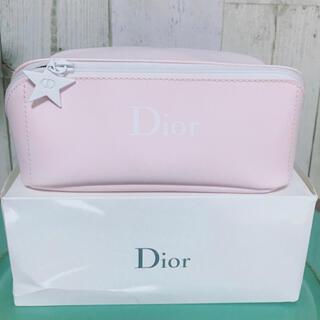 Christian Dior - 【新品】Dior クリスチャン ディオールノベルティポーチピンク