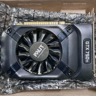 ASUS - 動作品 GeForce GTX 750 Ti グラボ 補助電源不要 ゲーム可能