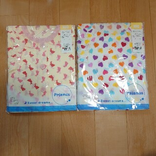 ニシマツヤ(西松屋)のキッズ 半袖パジャマ(100) 2点セット!(パジャマ)