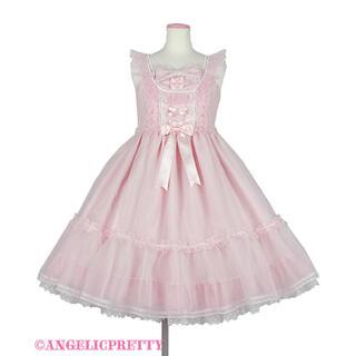 アンジェリックプリティー(Angelic Pretty)のLovelyオーガンジージャンパースカート(ひざ丈ワンピース)