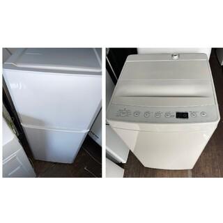 ハイアール(Haier)のhaier121L冷蔵庫&アマダナ4.5キロ洗濯機 💍ホワイト&コンパクト💍(冷蔵庫)