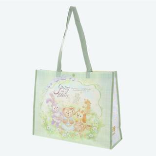 ダッフィー(ダッフィー)の新品 ダッフィー スプリングインブルーム ディズニーシー ショッピングバッグ(ショップ袋)