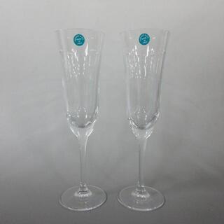 ティファニー(Tiffany & Co.)のティファニー ペアグラス新品同様  クリア(グラス/カップ)