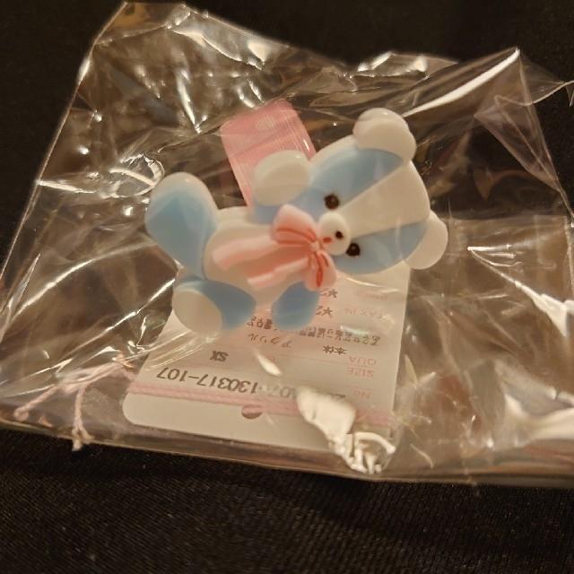 Angelic Pretty(アンジェリックプリティー)のangelic pretty bear toy リング サックス 新品未使用 レディースのアクセサリー(リング(指輪))の商品写真