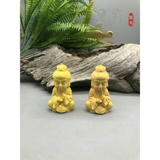 2点同出  如来座像  彫刻工芸品精密細工 仏師で仕上げ品 彫刻(彫刻/オブジェ)