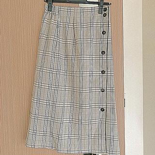 オリーブデオリーブ(OLIVEdesOLIVE)のOLIVE des OLIVE チェックスカート(ひざ丈スカート)