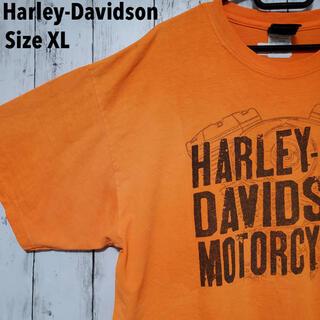 ハーレーダビッドソン(Harley Davidson)のHarley-Davidson  ヴィンテージTシャツ 希少カラー 両面プリント(Tシャツ/カットソー(半袖/袖なし))