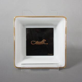 カルティエ(Cartier)のカルティエ 食器新品同様  - 小皿 陶器(その他)