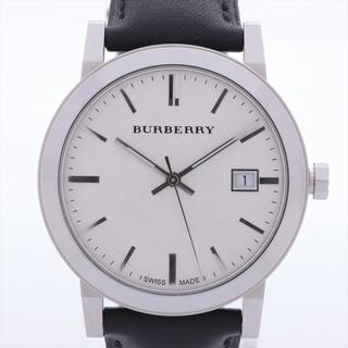 バーバリー(BURBERRY)のバーバリー  SS×革   メンズ 腕時計(腕時計(アナログ))