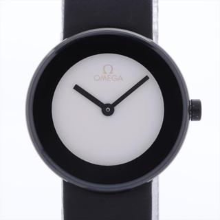 オメガ(OMEGA)のオメガ アートコレクション SS×革   レディース 腕時計(腕時計)