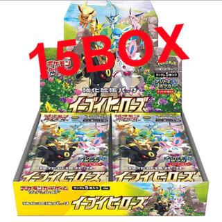 ポケモンカード イーブイヒーローズ 15box(Box/デッキ/パック)