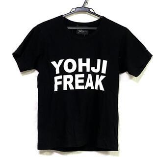ヨウジヤマモト(Yohji Yamamoto)のヨウジヤマモト 半袖Tシャツ サイズ2 M -(Tシャツ(半袖/袖なし))