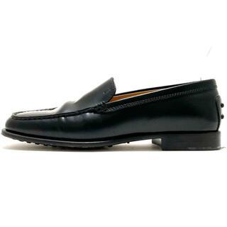 トッズ(TOD'S)のトッズ ローファー 36 1/2 レディース - 黒(ローファー/革靴)