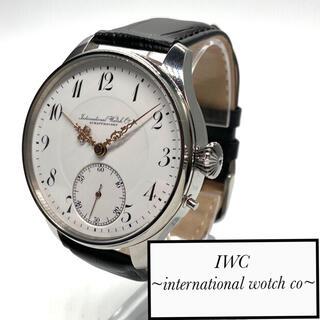 インターナショナルウォッチカンパニー(IWC)の【OH済!】IWC シャフハウゼンスケルトン 1920s ビンテージ 15j(腕時計(アナログ))