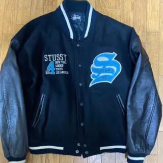 STUSSY - stussy big4 スタジャン